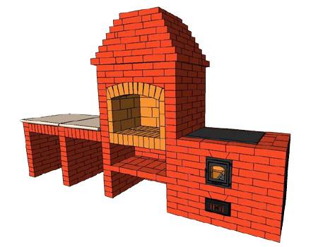Фото порядовка барбекю с казаном мебель из сосны для барбекю